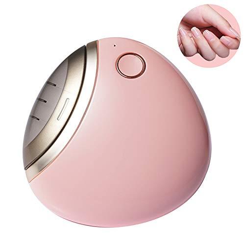 電動爪切り 電動ネイルケア 自動爪切り USB充電式 二段階スピート コンパクト 爪磨き 安全安心 日本語取扱書 プレゼント 男女兼用 ピンク