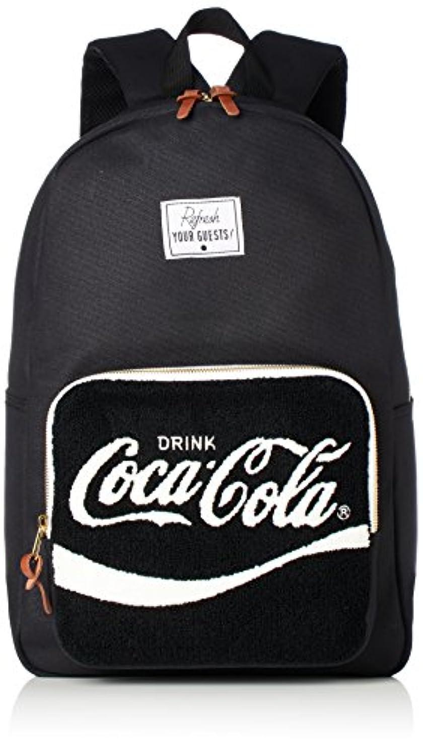 センター共同選択繊細[コカ?コーラ] コカ?コーラ リュック デイパック バックパック 鞄 コーラ さがら刺繍 ポケット付き 流行り おしゃれ かわいい 収納性 通学用 COK-MBBK11