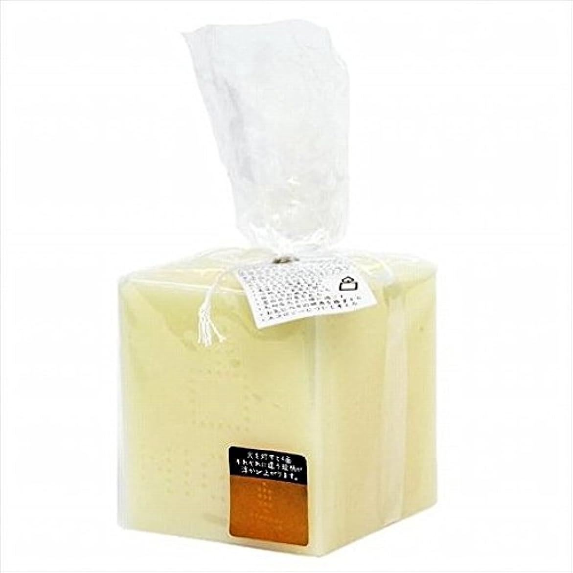タブレット石灰岩するkameyama candle(カメヤマキャンドル) キャンドルナイト キャンドル 70x70x160mm (A8640000)