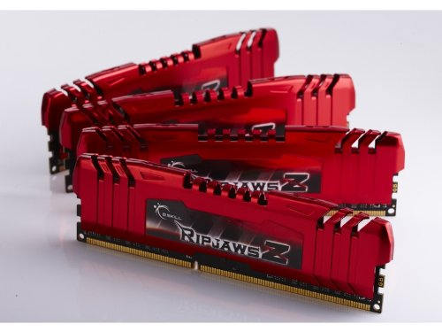 G.Skill F3-14900CL9Q-16GBZL DDR3-1866 16GB 4GBx4枚組 QUADKIT CL9-10-9 1.5Volt XMP1.3