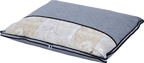 アストロ 羽毛布団収納ケース 活性炭シート入り 薄型 消臭しながら、かさばる羽毛布団をスリムに収納!...