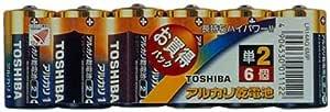 TOSHIBA アルカリ1 LR14AG 6MP アルカリ単二形6本入お買得パック