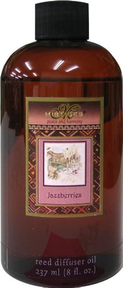 腐食する余分な立ち向かうMisticks リードディフューザー リフィル Jazzberries ジャズベリー 237ml