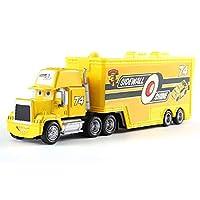 CBPPディズニーピクサー車 2 3 最大ライトニングマックィーンマックトラック叔父トラック 1:55 ダイカストモデル車のおもちゃの子供のクリスマス誕生日ギフトおもちゃの車のる