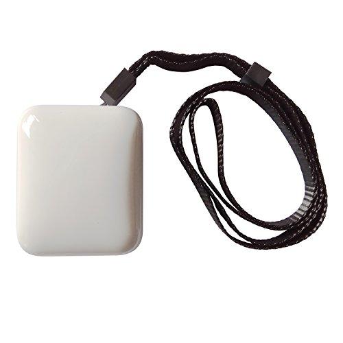 UnitedPlug ミニ空気清浄機 エアクリーナー オゾン発生器 アレルギー患者花粉対策 消臭 除菌 充電池/USB給電, (オールドマン、子供、妊婦、ペット)(ホワイト)