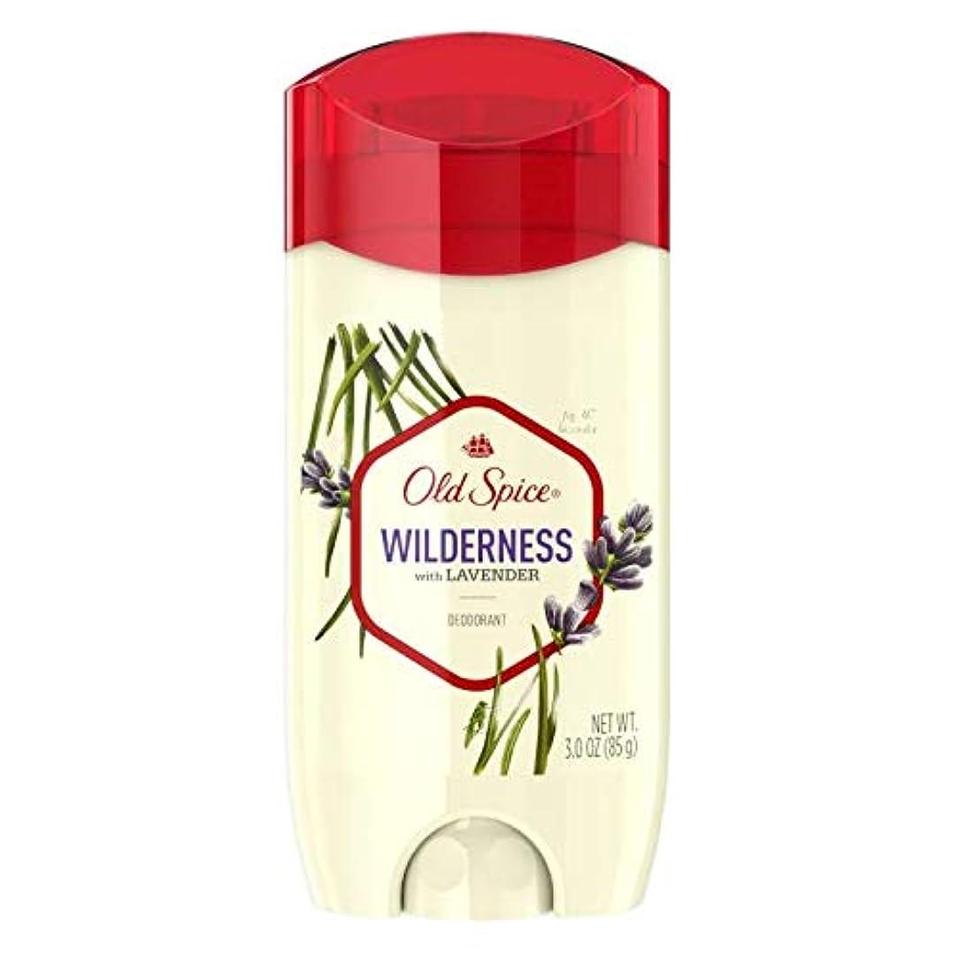 汚れた受け取るきしむOld Spice Fresher Collection Wilderness Deodorant - 3.0oz オールドスパイス フレッシャー コレクション ワイルドネス デオドラント 85g [並行輸入品]