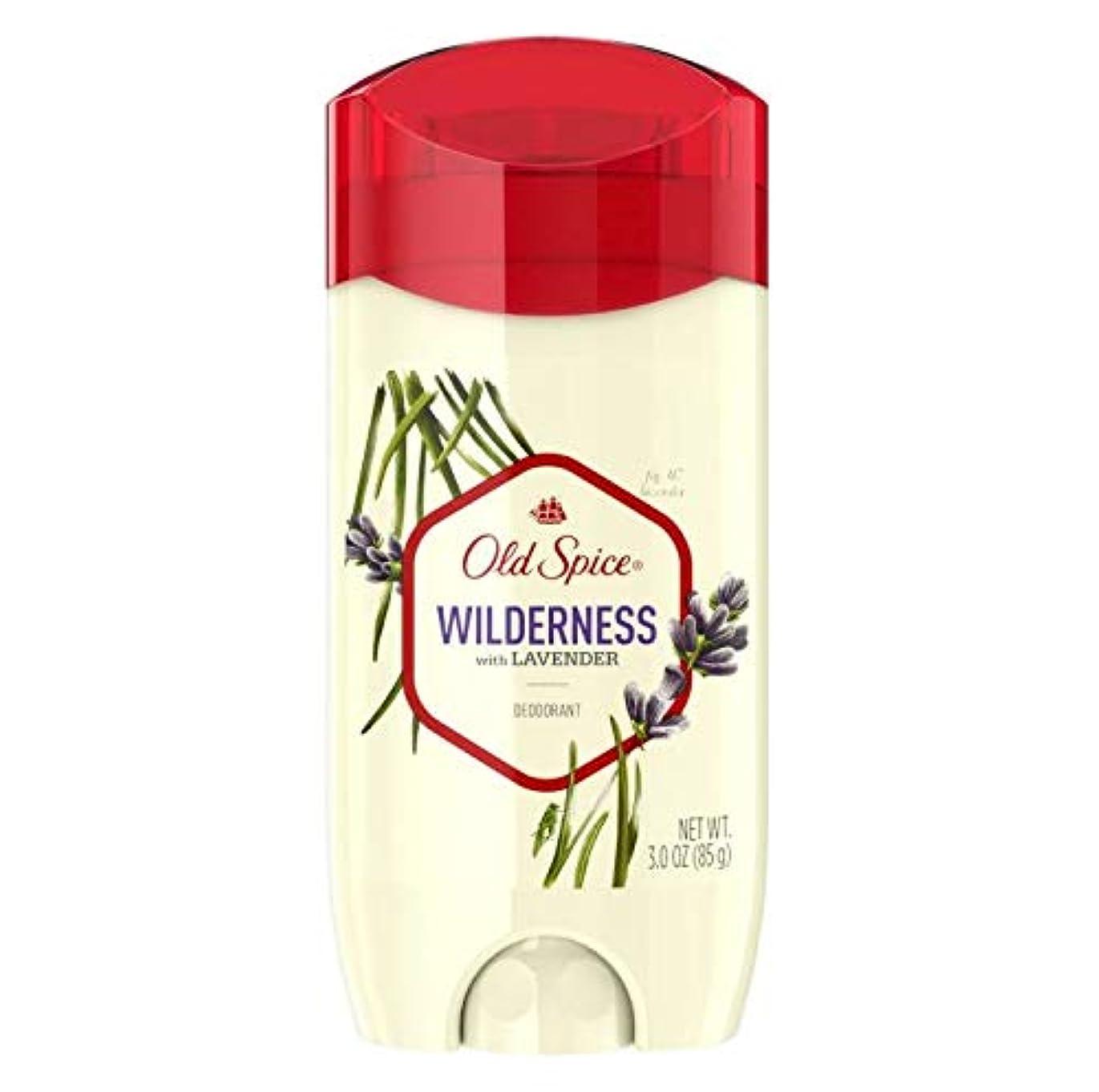 混合紛争縁石Old Spice Fresher Collection Wilderness Deodorant - 3.0oz オールドスパイス フレッシャー コレクション ワイルドネス デオドラント 85g [並行輸入品]