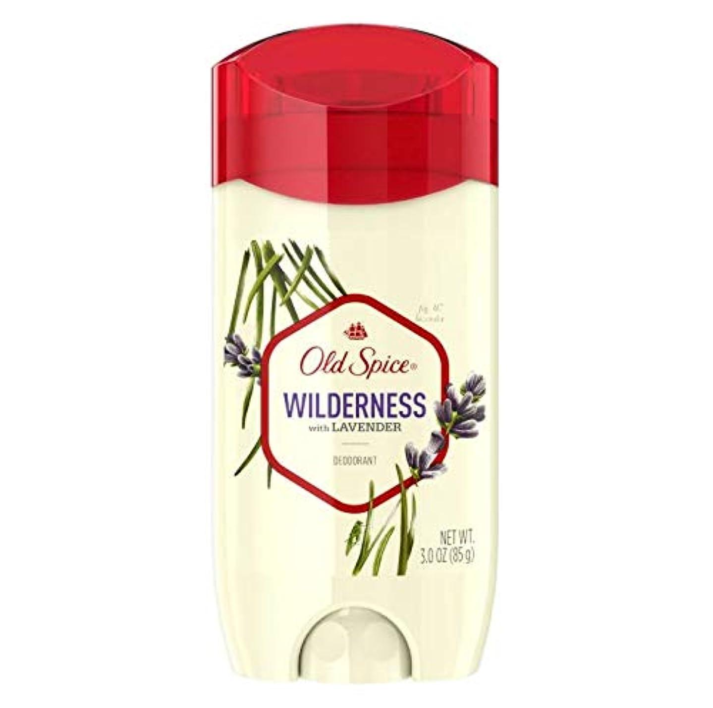 近所の小康可聴Old Spice Fresher Collection Wilderness Deodorant - 3.0oz オールドスパイス フレッシャー コレクション ワイルドネス デオドラント 85g [並行輸入品]