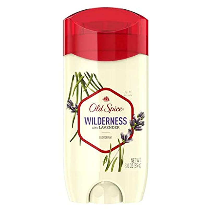 困惑お風呂を持っている小包Old Spice Fresher Collection Wilderness Deodorant - 3.0oz オールドスパイス フレッシャー コレクション ワイルドネス デオドラント 85g [並行輸入品]