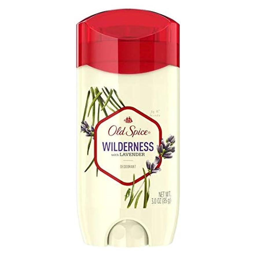 日食素晴らしいです後退するOld Spice Fresher Collection Wilderness Deodorant - 3.0oz オールドスパイス フレッシャー コレクション ワイルドネス デオドラント 85g [並行輸入品]