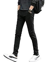 FEIDA チノパン メンズ スキニーパンツ ストレッチ スリム ロングパンツ カツラギ カジュアル 大きいサイズ