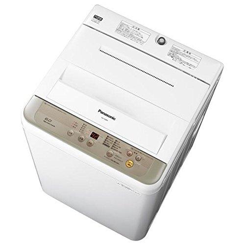 パナソニック 6.0kg全自動洗濯機 シャンパン NA-F60B9-N