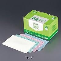 クレシア抗菌カウンタークロス 薄手タイプ(1箱・100枚入)<ピンク>