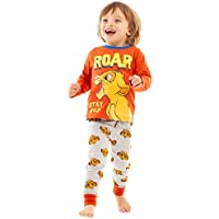 Lion King Disney Simba Roar Boys/Kids Red Long Pyjamas Sleepwear Set