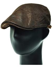 [PLIC N PLOC]EMH05.ヴィンテージ人工スエードメンズベレー帽 ハンチング フラットキャップ帽子 鳥打ち帽 春 秋