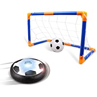 サッカー 室内 ゴール付き エアーサッカー ロリートイ 2種類ボール 親子 スポーツゲーム 子供 プレゼント