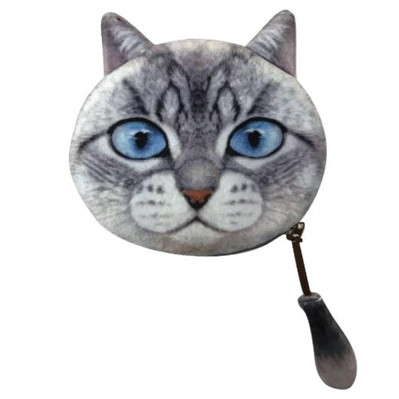【在庫限りの特価品】ネコちゃんしっぽつきポーチ  猫 キャット アニマル 動物