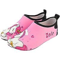 Creationtop Unicorn Shoes Water Shoes Baby Girls Barefoot Swim Water Skin Shoes Aqua Socks for Beach for Swimming Pool