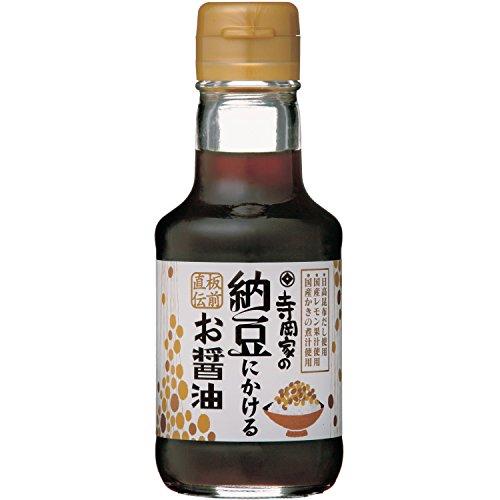 寺岡有機醸造 寺岡家の納豆にかけるお醤油 150ml