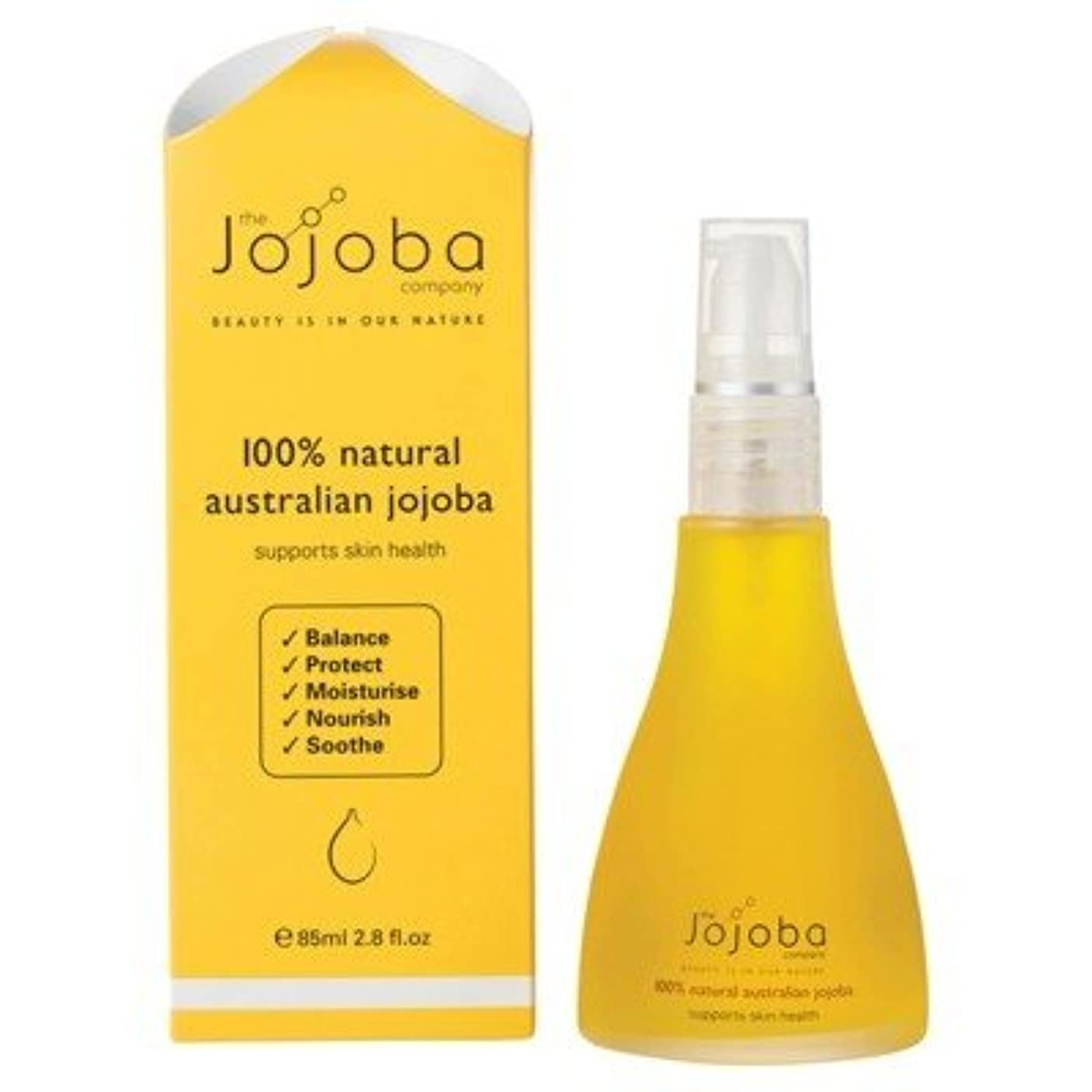 エコー食べる結婚the Jojoba Company 100% Natural Australian Jojoba Oil 85ml [海外直送品]