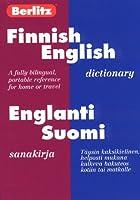 Berlitz Finnish-English Dictionary/Englanti-Suomi Sanakirja (Berlitz Bilingual Dictionaries)