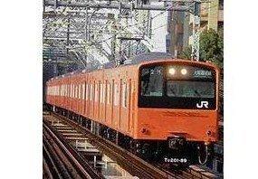 Nゲージ 1065T JR201系体質改善車 オレンジ 大阪環状線トータル4輛セット (塗装済車両キット)