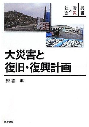 大災害と復旧・復興計画 (叢書 震災と社会)の詳細を見る