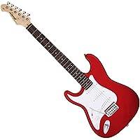 Legend エレキギター LST-Z L/H CA キャンディアップルレッド レフトハンド ストラトタイプ ソフトケース付