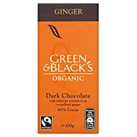 Green & Black's - Ginger Chocolate - 100g