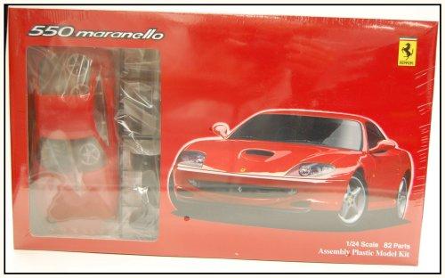 フジミ模型 1/24 リアルスポーツNo.06 フェラーリ550マラネロ