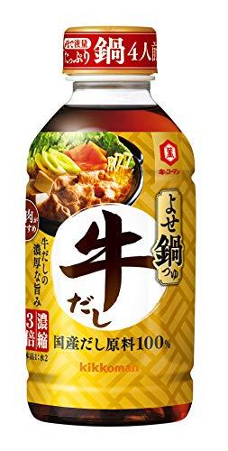 キッコーマン食品 よせ鍋つゆ 牛だし 300ml ×6本
