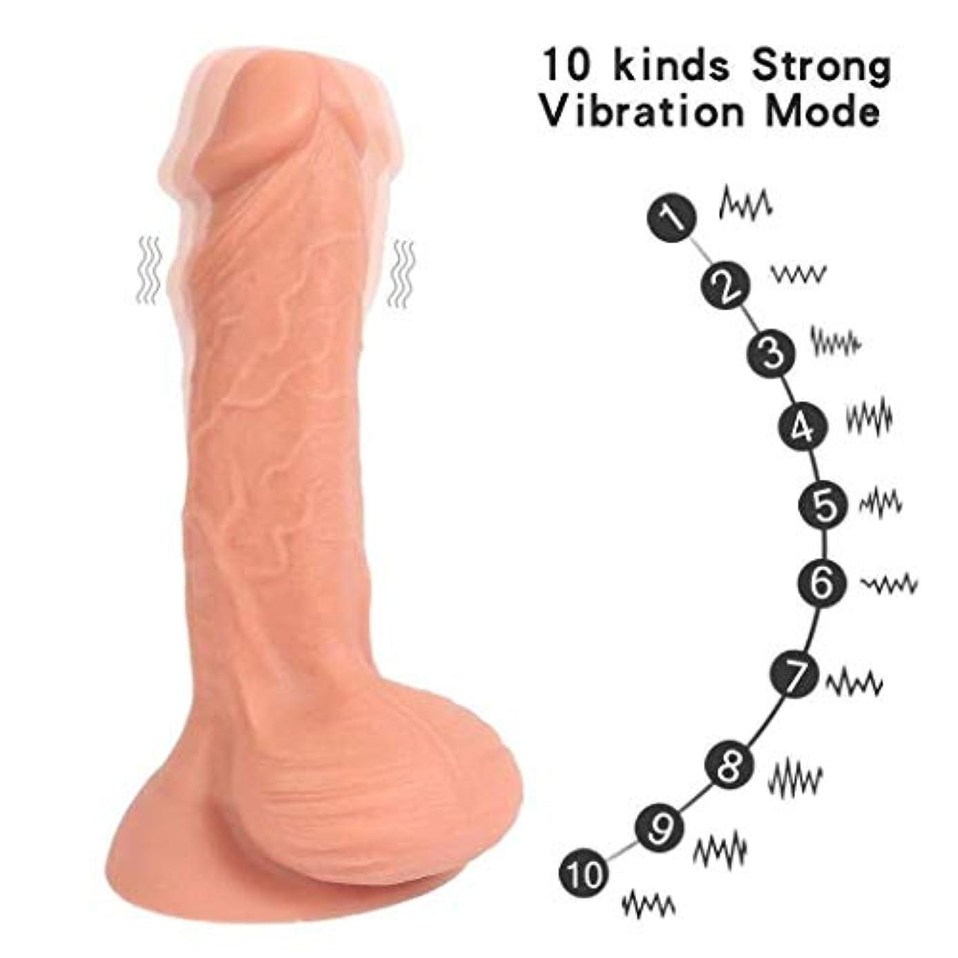 活性化好む麻痺させる強力な吸盤が付いている柔らかい現実的な男性と女性のおもちゃは、 - 幸福をもたらします