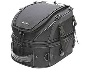 タナックス(TANAX)モトフィズ ダブルデッキシートバッグ /ブラック MFK-139 可変容量18-28ℓ