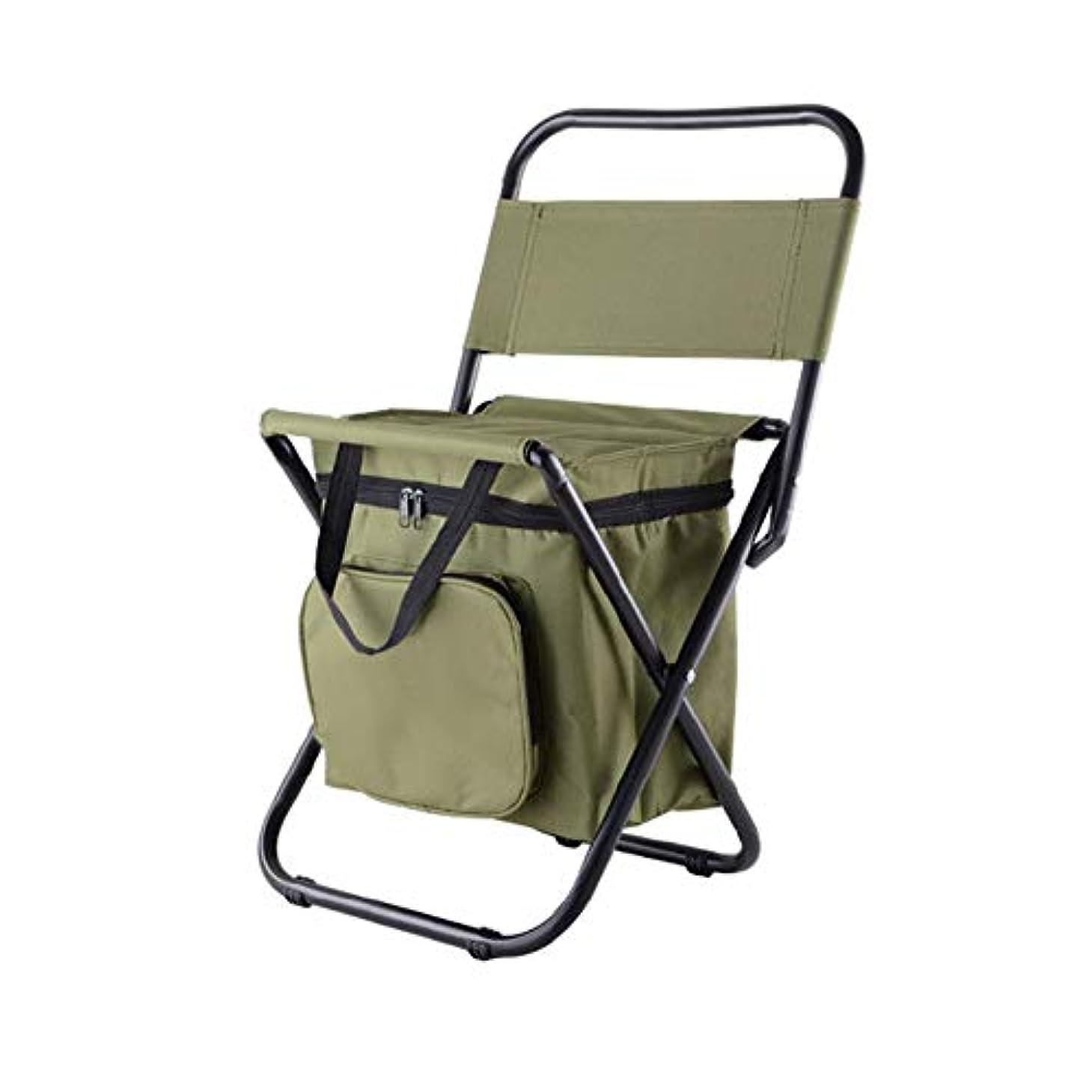 フラッシュのように素早く極貧転用屋外折り畳み椅子 アウトドアチェア アイスバッグ断熱パッケージ付き スツール ポータブル椅子 多機能 持ち運び チェア 簡単に収納 組み立て椅子 キャンプ/釣り/ピクニック/クライミング/登山/BBQ/花火大会/運動会に適用