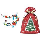 ころがスイッチ ポケモン スタンダードキット + インディゴ クリスマス ラッピング袋 グリーティングバッグ3L クリスマスツリー レッド XG983