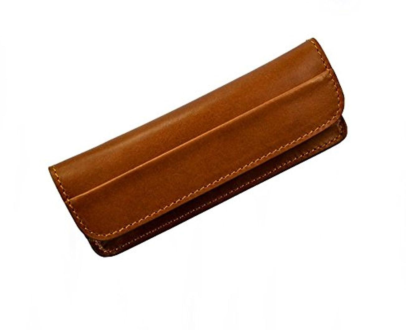 イソギンチャク乱雑なチームMax Capdebarthes Pocket knife sheath, Tendance 13 cm, Maya (brown)