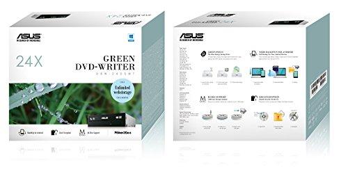 ASUSTek Windows10対応 M-DISC対応 最大24倍速書込 SATA接続 DVD/CDライティングソフト付き DRW-24D5MT