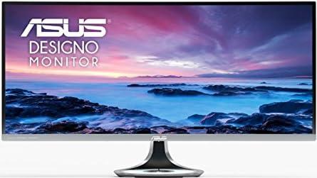 ASUS湾曲ウルトラワイド34型モニター(フリッカーフリー / 3440x1440 / Qi対応 / ブルーライト軽減 / DisplayPort, HDMI)MX34VQ