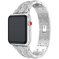 inverleeステンレススチールブレスレットスマートウォッチバンドストラップfor Apple Watchシリーズ3 38 / 42 mm 38MM