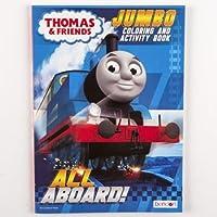 Dollaritemdirect Coloring Book Thomas Train 96 pgs 24 pc表示ボックスで、ケースパックof 24