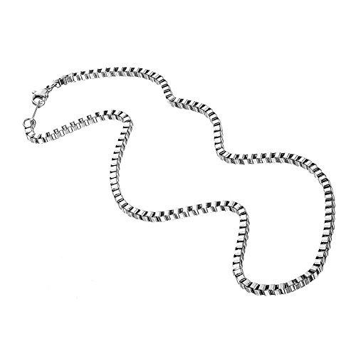 [해외]AMAA 체인 목걸이 스퀘어 힙합 액세서리 초커/AMAA chain necklace square hip hop accessory choker