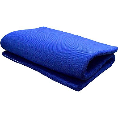 三次元スプリング構造体 パラレーヴ(TM) PARAREVE(TM)を 使用した 敷き布団 シングル 95×200cm ブルー