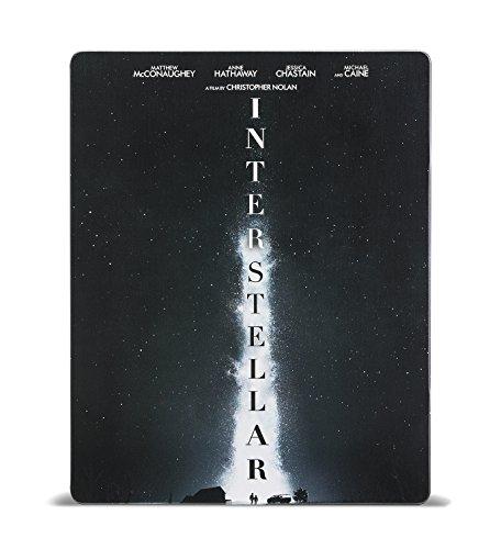インターステラー ブルーレイ スチールブック仕様(数量限定生産/2枚組) [Blu-ray]
