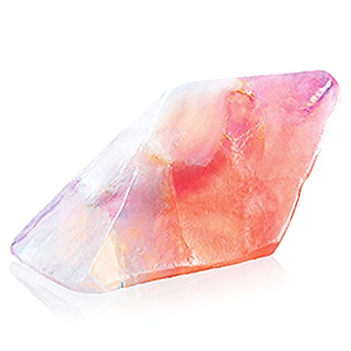 シュリンクビバ小売Savons Gemme サボンジェム 世界で一番美しい宝石石鹸 フレグランス ソープ ローズクォーツ ミニ 114g