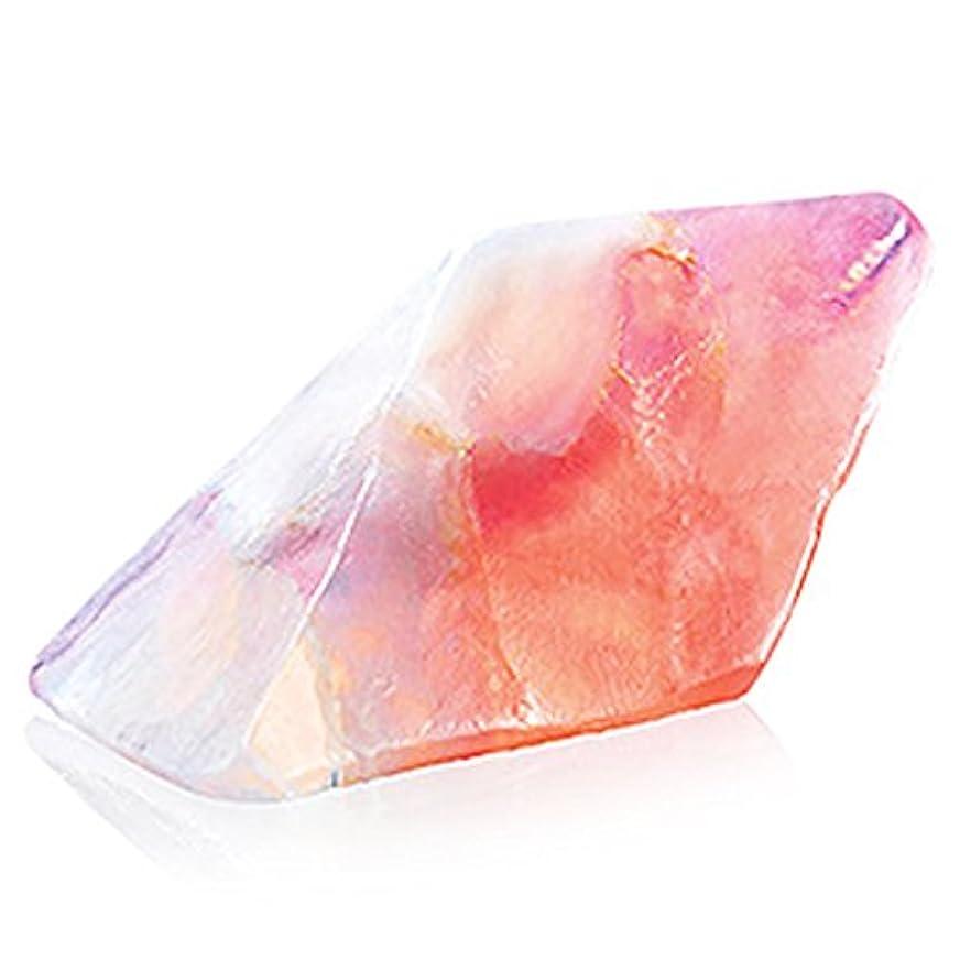 テニス面積規制Savons Gemme サボンジェム 世界で一番美しい宝石石鹸 フレグランス ソープ ローズクォーツ ミニ 114g