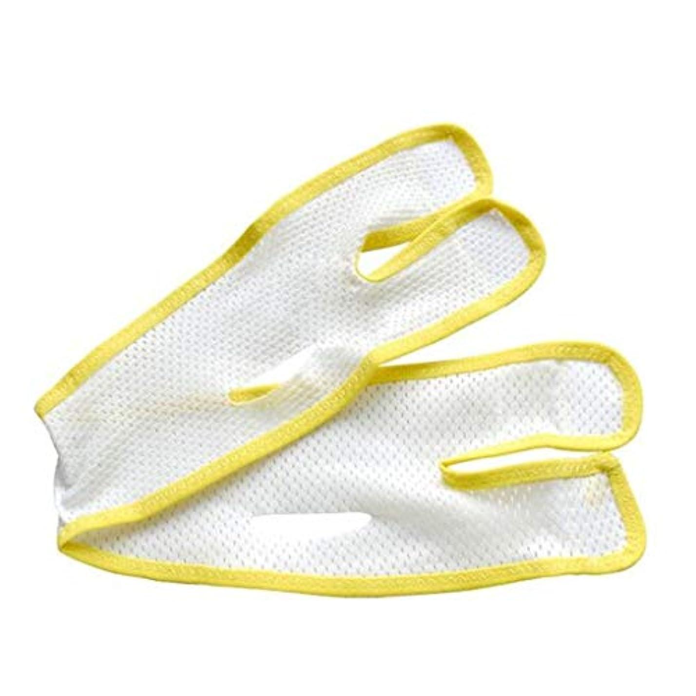 レオナルドダ持参なので通気性フェイスマスク - Vフェイスアーティファクト - 二重あご包帯を引き締める引き締め