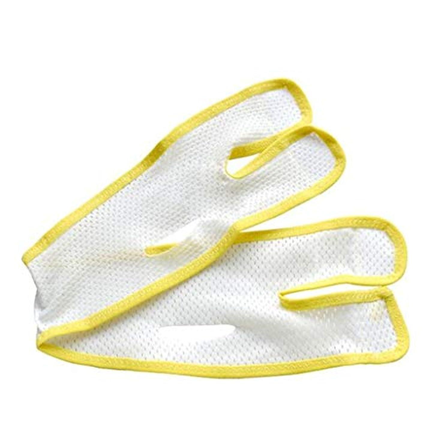支配する居眠りするドル通気性フェイスマスク - Vフェイスアーティファクト - 二重あご包帯を引き締める引き締め