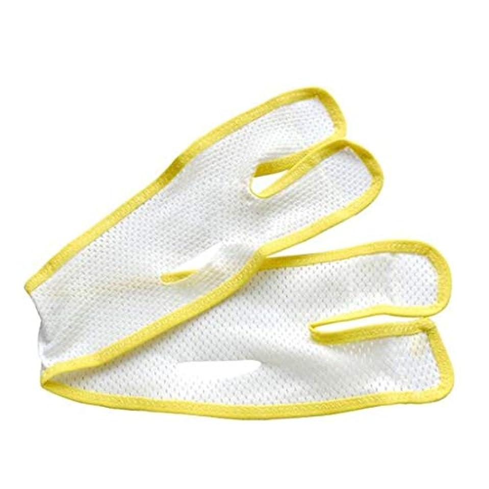 結果面倒ビリー通気性フェイスマスク - Vフェイスアーティファクト - 二重あご包帯を引き締める引き締め