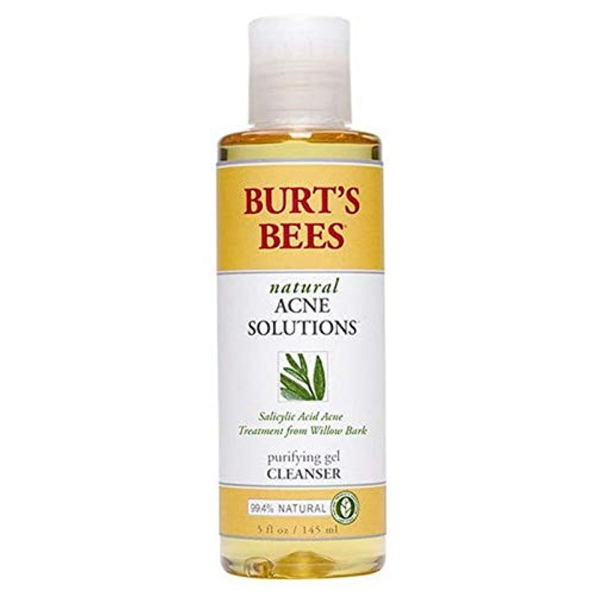 吹雪遺伝子寄生虫[Burt's Bees ] バーツビー反傷毎日クレンザー、145ミリリットル - Burt's Bees Anti Blemish Daily Cleanser, 145ml [並行輸入品]