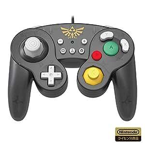 【任天堂ライセンス商品】ホリ クラシックコントローラー for Nintendo Switch ゼルダ【Nintendo Switch対応】